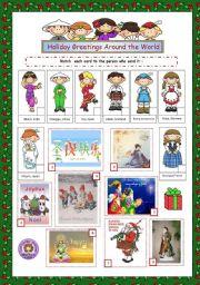 Holiday Greetings Around the World