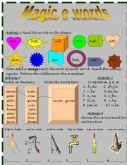 English Worksheets: MAGIC