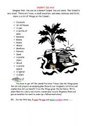 English Worksheet: Writing