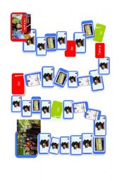 English Worksheets: charlie and the chocolate factory BOARD GAME