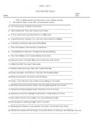 relative clauses worksheet by izelila. Black Bedroom Furniture Sets. Home Design Ideas