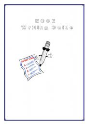 English Worksheets: ECCE Writing Guide