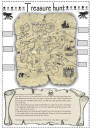 Treasure hunt  2PAGES