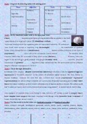 English Worksheets: Module4; Science and technology 3rd forms