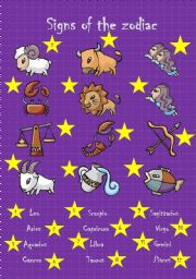English Worksheet: Signs of the zodiac