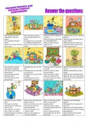 English Worksheet: Present perfect vs. Present perfect continuous CONVERSATION