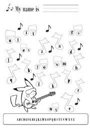 music alphabet worksheets lesupercoin printables worksheets. Black Bedroom Furniture Sets. Home Design Ideas