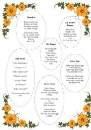 English Worksheet: Easter Poems
