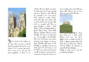 English Worksheets: Reading comprehension about York