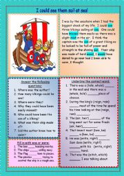 English Worksheet: Homonyms