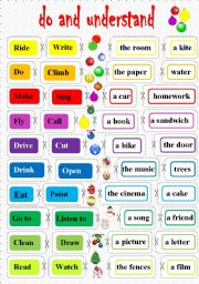 English Worksheets: learn by doing some craft!