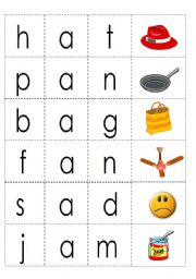 cvc words with short vowel a