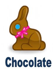 English Worksheet: Easter Flash-cards