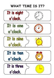 Months of the year worksheets esl