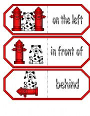 English Worksheets: Where is the Dalmatian? Large Dominoes Part 2 of 2