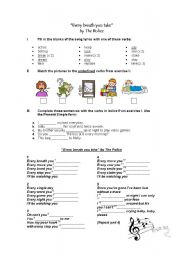 English Worksheets: Every breath you take by The Police