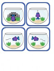 Where is the Fish Swimming?  Preposition Memory Cards Part 2 of 2 with Additional Activities