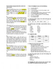 English Worksheets: Crime and Law