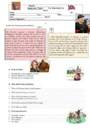 English Worksheets: Mozart or Eminem - a test on music