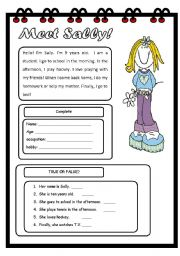 12+ Esl Printable Reading Worksheets Wallpaper Download