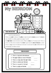 English Worksheets: Reading-comprehension :Elementary 2/3