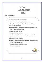 7th Birthday Party Program Sample English teaching worksheets: 7th ...