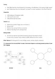 English Worksheets: GEPT practice describing pictures