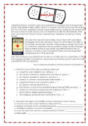 English Worksheets: BAND-AID