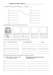 English Worksheets: Make your own worksheet.