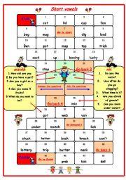Gameboard (short vowels)