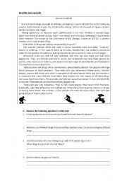 english teaching worksheets drugs. Black Bedroom Furniture Sets. Home Design Ideas