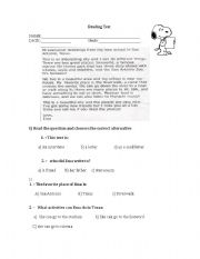 English Worksheets: Greeting from texas