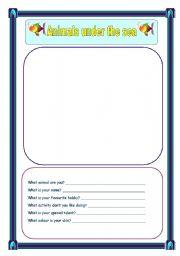 English Worksheets: create drawing