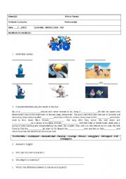 English Worksheets: MOVIE CLASS - RIO