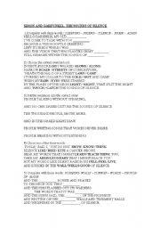 english worksheets using songs worksheets page 557. Black Bedroom Furniture Sets. Home Design Ideas