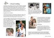English Worksheet: a royal wedding : Kate and William