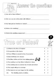 Question on Kate and William´s wedding