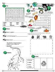 English Worksheet: Around The World Series_03 Mexico (Fully Editable + Key)