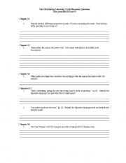 Worksheets Tuck Everlasting Worksheets tuck everlasting worksheets rupsucks printables grade 5 intrepidpath english pre activity teaching other writing