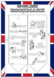 English Worksheet: English bookmark