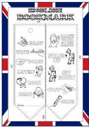 English Worksheets: English bookmark