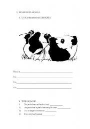 endangered animals worksheets for kindergarten worksheets on endangered animals the best and. Black Bedroom Furniture Sets. Home Design Ideas