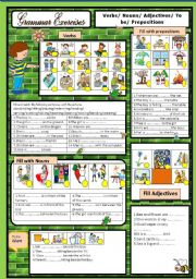English Worksheets: Grammar Exercises