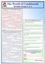 English Worksheets: The World of Conditionals