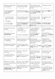 English Worksheet: grammar and vocabulary revision 3