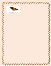 English Worksheets: Butterfly template