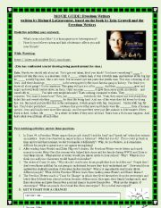 English Worksheets: Freedom Writers Movie guide