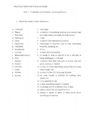 English Worksheets: everyday vocabulary and expressions