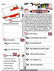 English Worksheet: RC Series_Level 01_Country Edition 09 Austria