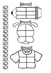English Worksheets: Tailor-made BINGO CHARTS